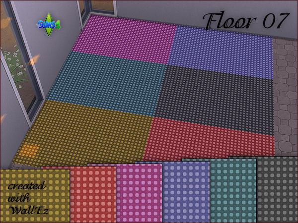Sims 4 4 carpet floors in 6 colors at Arte Della Vita