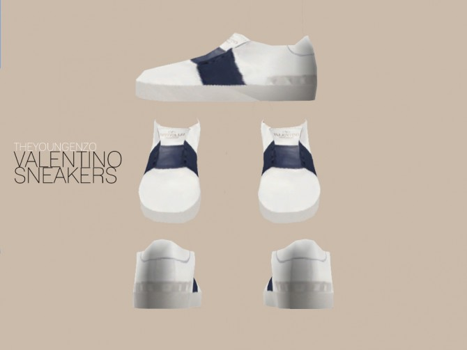 Sims 4 SNEAKERS for males at The Young Enzo