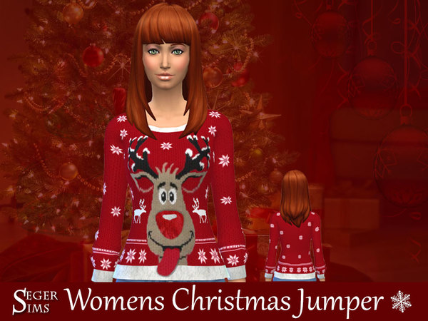 Christmas Jumpers by SegerSims at TSR image 1038 Sims 4 Updates