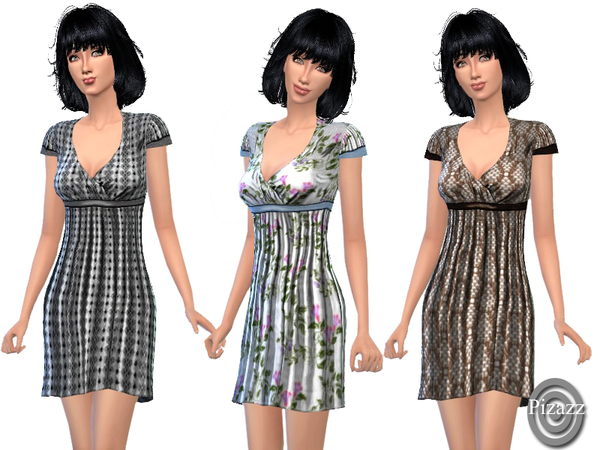 Playful Dress by Pizazz at TSR image 1050 Sims 4 Updates