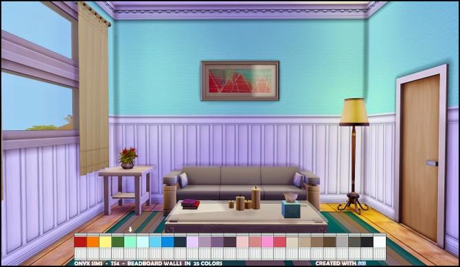 Bead Board Walls by KiaraRawks at Onyx Sims image 10921 Sims 4 Updates