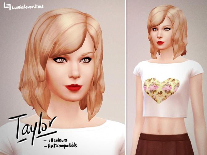 Taylor Bob Hair at LumiaLover Sims image 11041 Sims 4 Updates