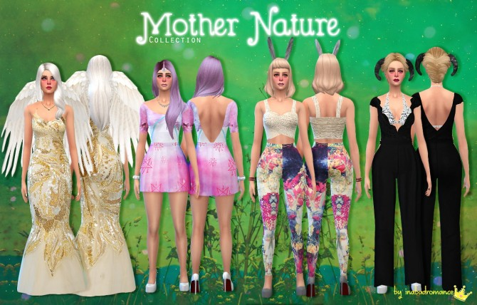 Mother Nature collection at In a bad Romance image 11110 Sims 4 Updates