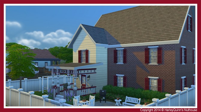 The Crimson house at Harley Quinn's Nuthouse image 11123 Sims 4 Updates