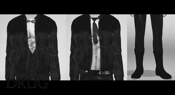 Fur Coat For Males At Ccts4 187 Sims 4 Updates