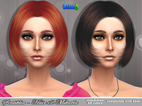 Mikaela Hair s02 by Sintiklia at TSR image 1113 Sims 4 Updates