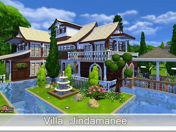 Villa Jindamanee by autaki at TSR image 11161 Sims 4 Updates