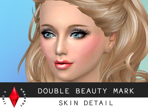 Sims 4 2 Double beauty mark at Sims 4 Krampus