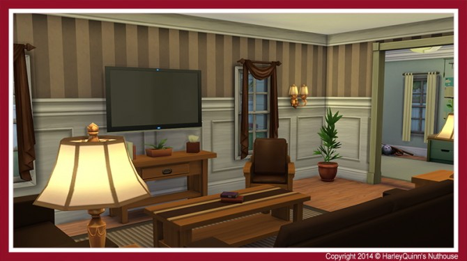 The Crimson house at Harley Quinn's Nuthouse image 112211 Sims 4 Updates