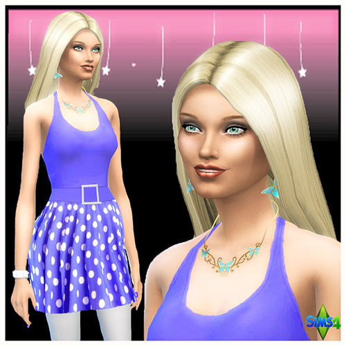 Sims 4 Elisa Richemond by Mich Utopia at Sims 4 Passions