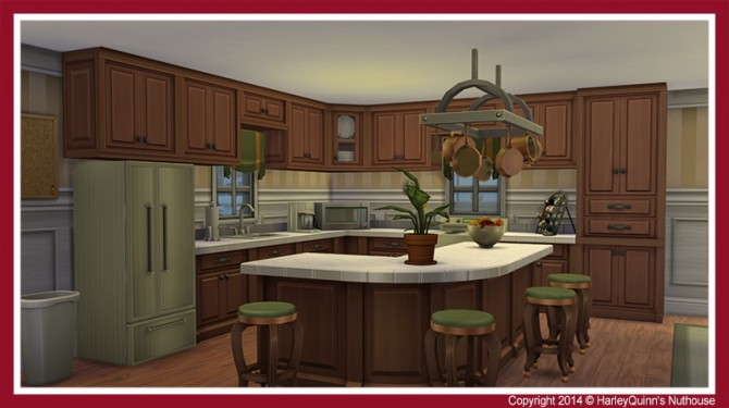 The Crimson house at Harley Quinn's Nuthouse image 11416 Sims 4 Updates