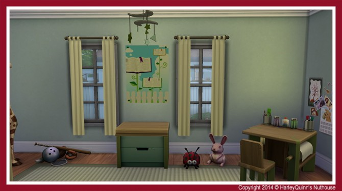 The Crimson house at Harley Quinn's Nuthouse image 11516 Sims 4 Updates