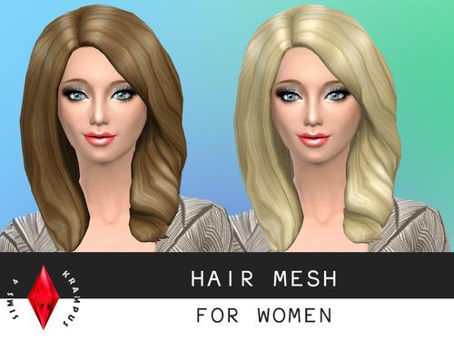 Hair mesh edit at Sims 4 Krampus image 1164 Sims 4 Updates
