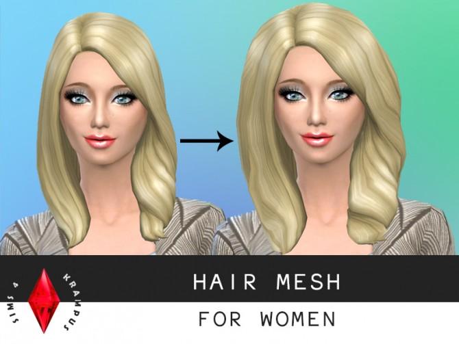 Hair mesh edit at Sims 4 Krampus image 1174 Sims 4 Updates