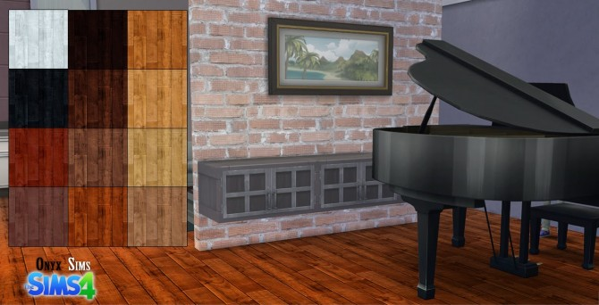 Resona Walnut Wood Floors by KiaraRawks at Onyx Sims image 11813 Sims 4 Updates