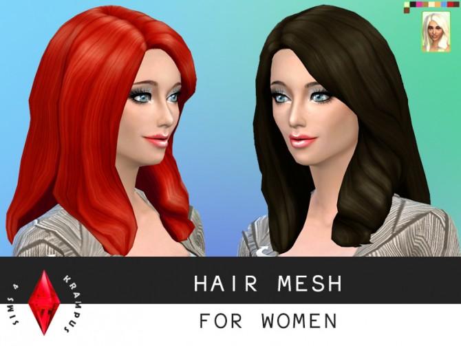 Hair mesh edit at Sims 4 Krampus image 1183 Sims 4 Updates