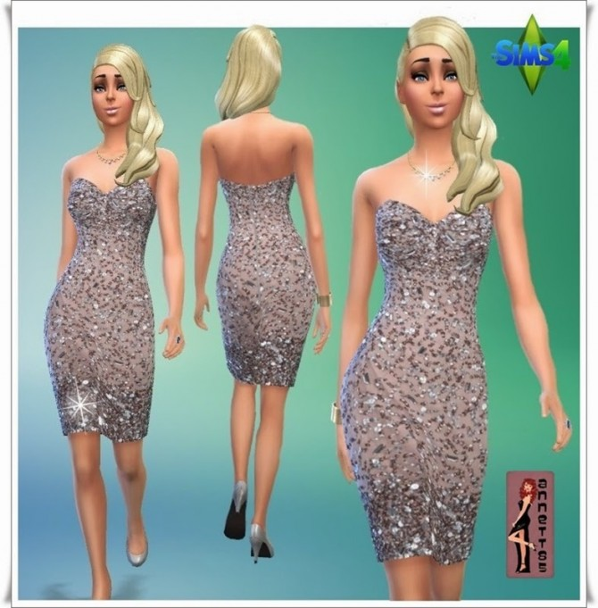 Glitterdream Party Dresses at Annett's Sims 4 Welt image 1193 Sims 4 Updates