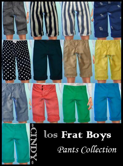 Los Frat Boys Cc Dump At Ccts4 187 Sims 4 Updates