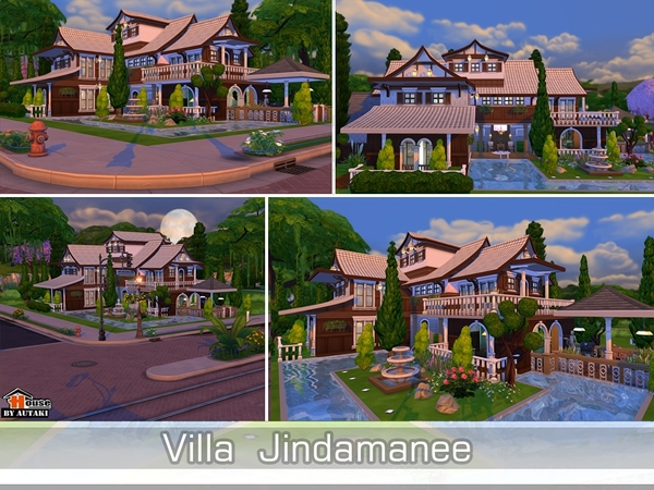 Villa Jindamanee by autaki at TSR image 12101 Sims 4 Updates