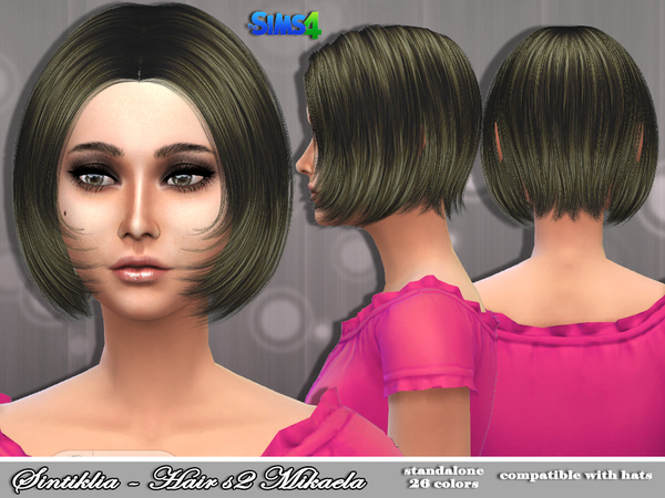 Mikaela Hair s02 by Sintiklia at TSR image 1212 Sims 4 Updates