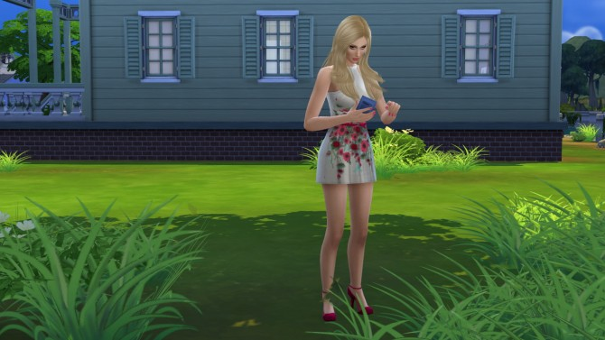 Sims 4 Alice by Elena at Sims World by Denver