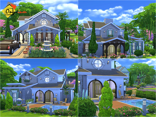 Cenothera Biennis home by Onyxium at TSR image 1268 Sims 4 Updates