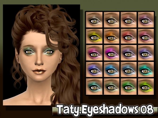 Sims 4 Eyeshadow 08 at Taty – Eámanë Palantír