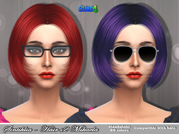 Mikaela Hair s02 by Sintiklia at TSR image 1310 Sims 4 Updates