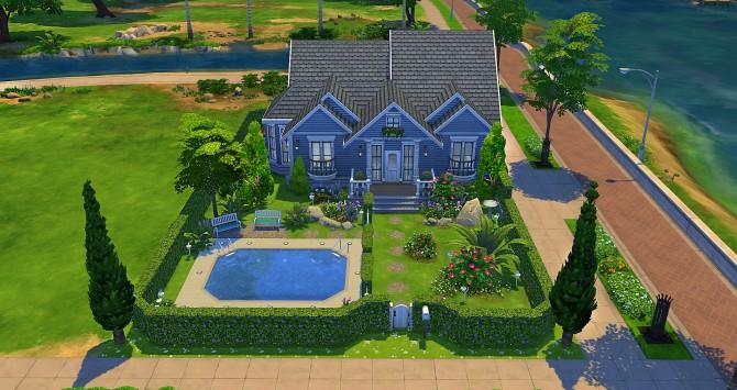 Sims 4 Gardenia house at Studio Sims Creation