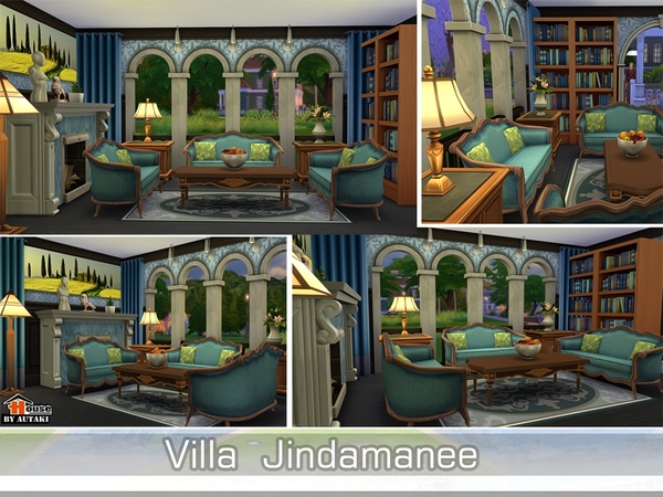 Villa Jindamanee by autaki at TSR image 13131 Sims 4 Updates