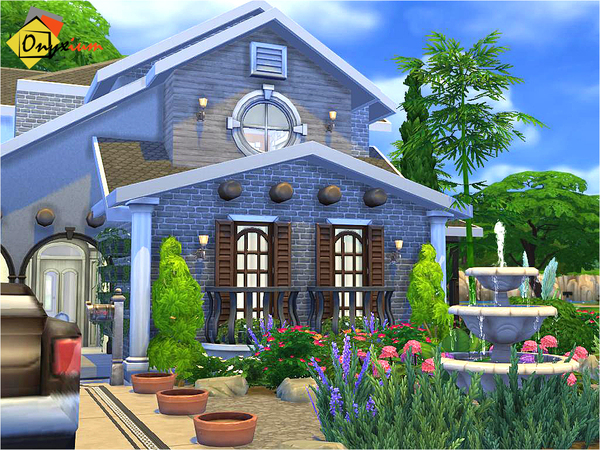 Cenothera Biennis home by Onyxium at TSR image 1350 Sims 4 Updates