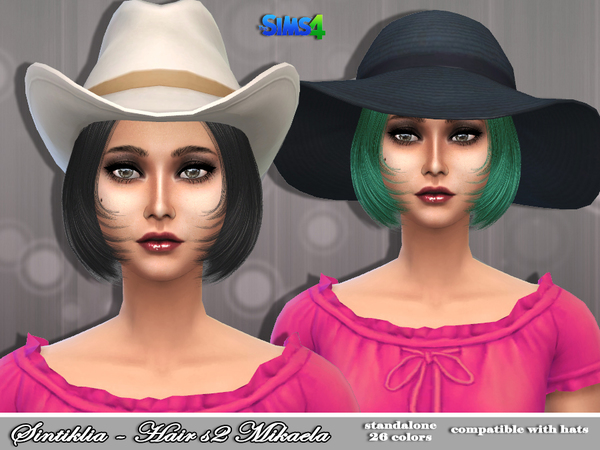 Mikaela Hair s02 by Sintiklia at TSR image 1412 Sims 4 Updates