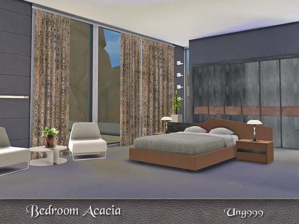 Sims 4 Acacia Bedroom by ung999 at TSR