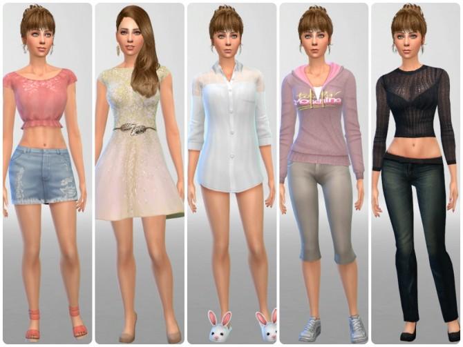 Anna at sssvitlans image 1482 Sims 4 Updates
