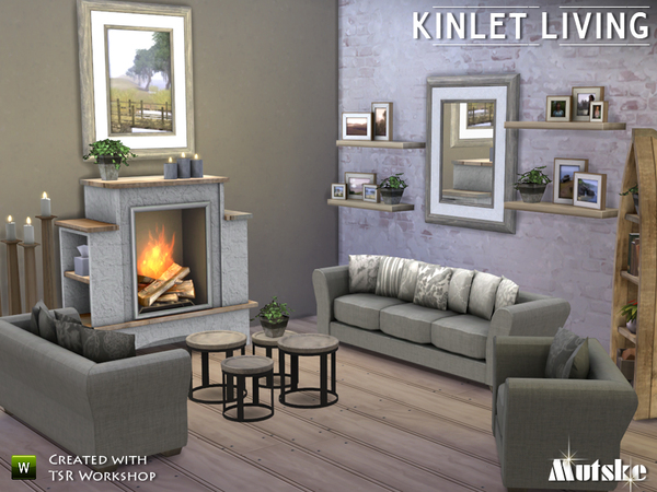 Kinlet Livingroom By Mutske At TSR