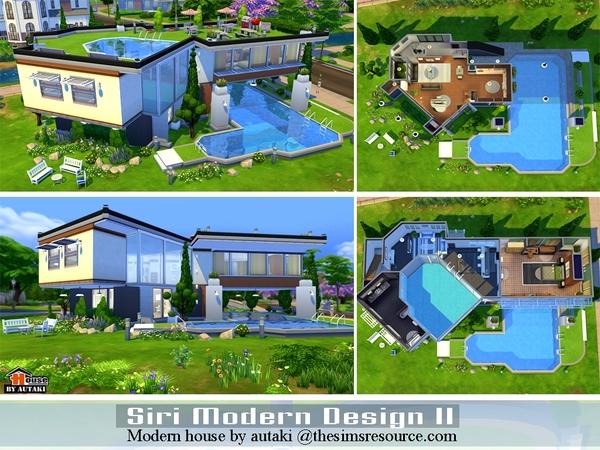 Sri Modern Design Ii House By Autaki At Tsr » Sims 4 Updates