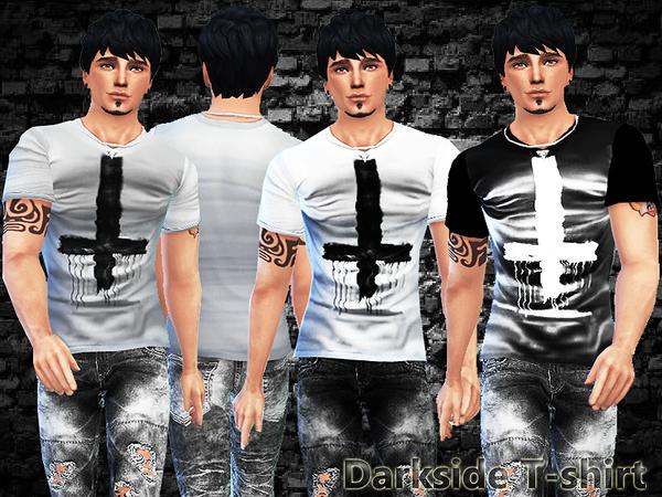 Sims 4 Darkside T shirt by Pinkzombiecupcakes at TSR