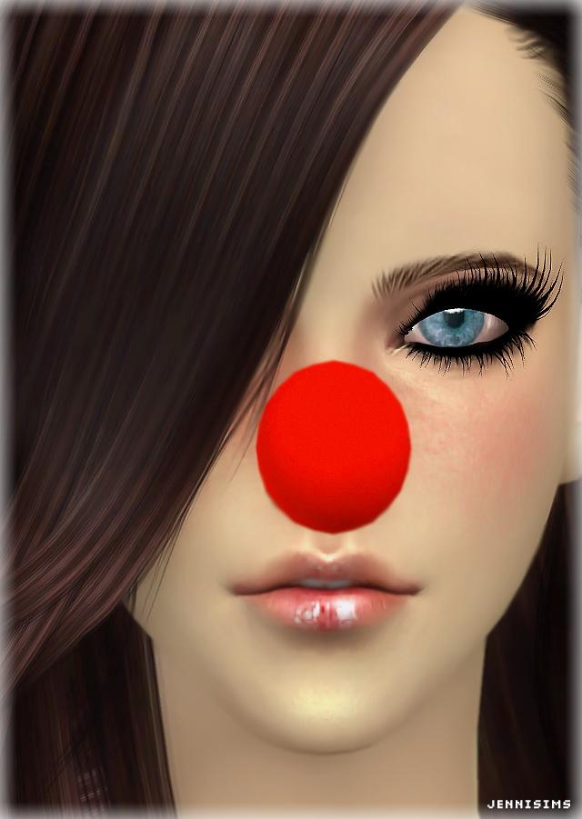 Santa Nose and Mistletoe headwear at Jenni Sims image 1533 Sims 4 Updates