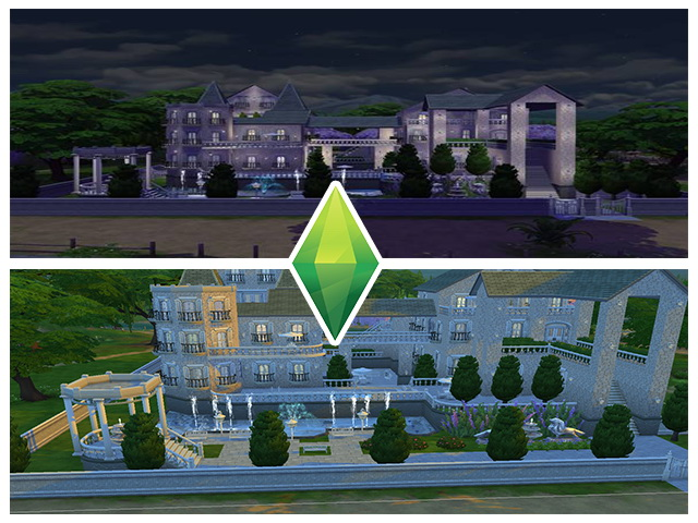 Sims 4 Great Old Building by M13 at Sims Fans