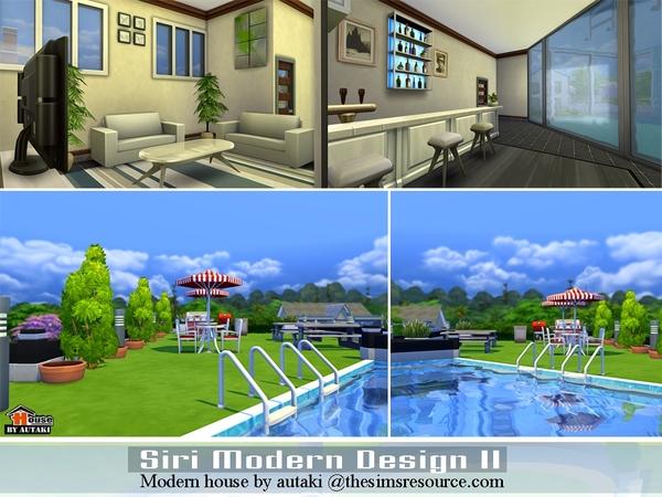 Sri Modern Design II house by autaki at TSR image 16131 Sims 4 Updates