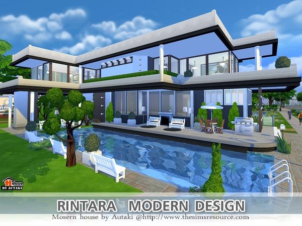 Rintara Modern Design by autaki at TSR image 16221 Sims 4 Updates