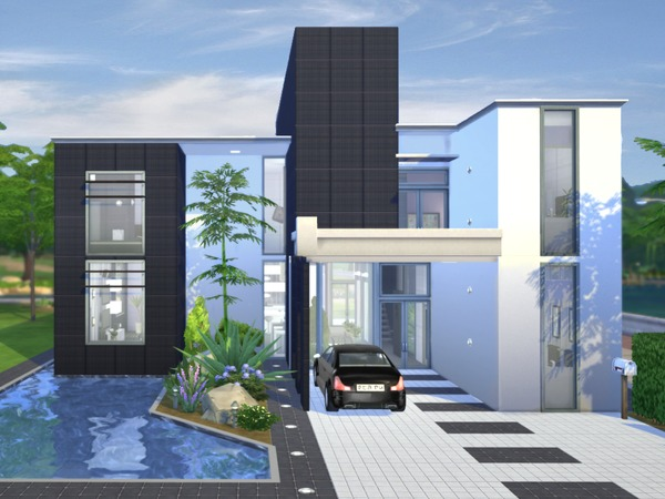 Onyx Modern House By Chemy At Tsr 187 Sims 4 Updates