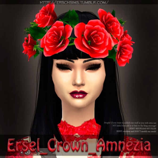 Amnezia Crown by Ersel at ErSch Sims image 16511 Sims 4 Updates