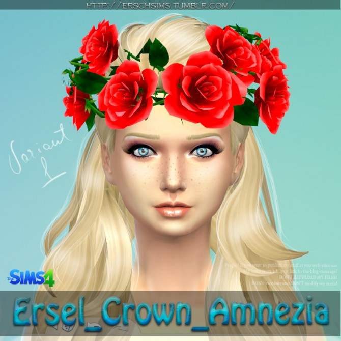 Amnezia Crown by Ersel at ErSch Sims image 16611 Sims 4 Updates
