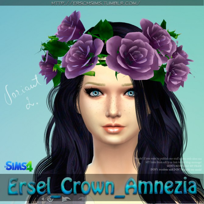 Amnezia Crown by Ersel at ErSch Sims image 16711 Sims 4 Updates