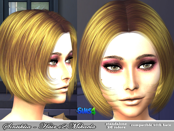Mikaela Hair s02 by Sintiklia at TSR image 168 Sims 4 Updates