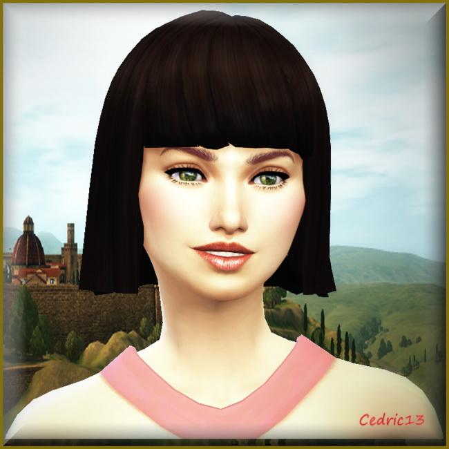 Sims 4 Juliette by Cedric13 at L'univers de Nicole