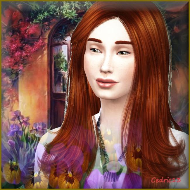 Sims 4 Justine by Cedric13 at L'univers de Nicole