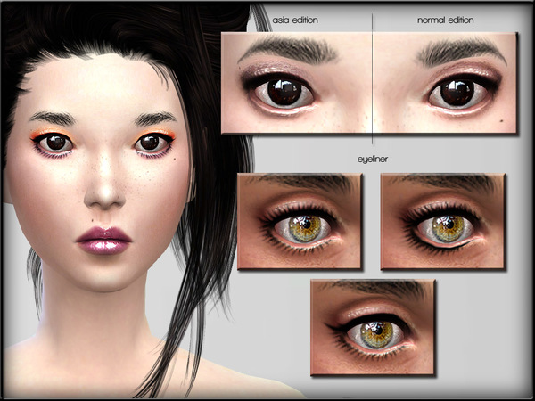 Eyeshadow Set 3 By Shojoangel At Tsr 187 Sims 4 Updates