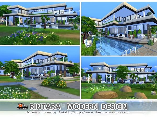 Rintara Modern Design by autaki at TSR image 1726 Sims 4 Updates